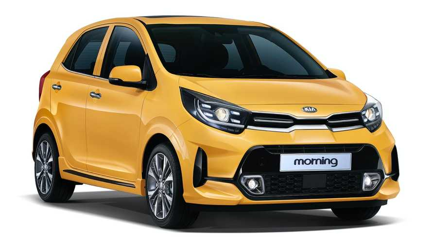 Kia Picanto facelift goes official in South Korea