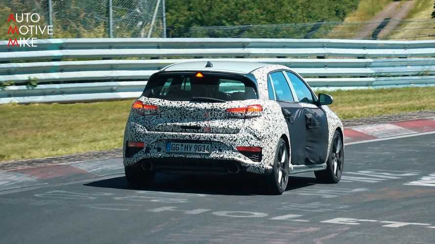 Így szól az automata váltóval szerelt új Hyundai i30 N a Nürburgringen