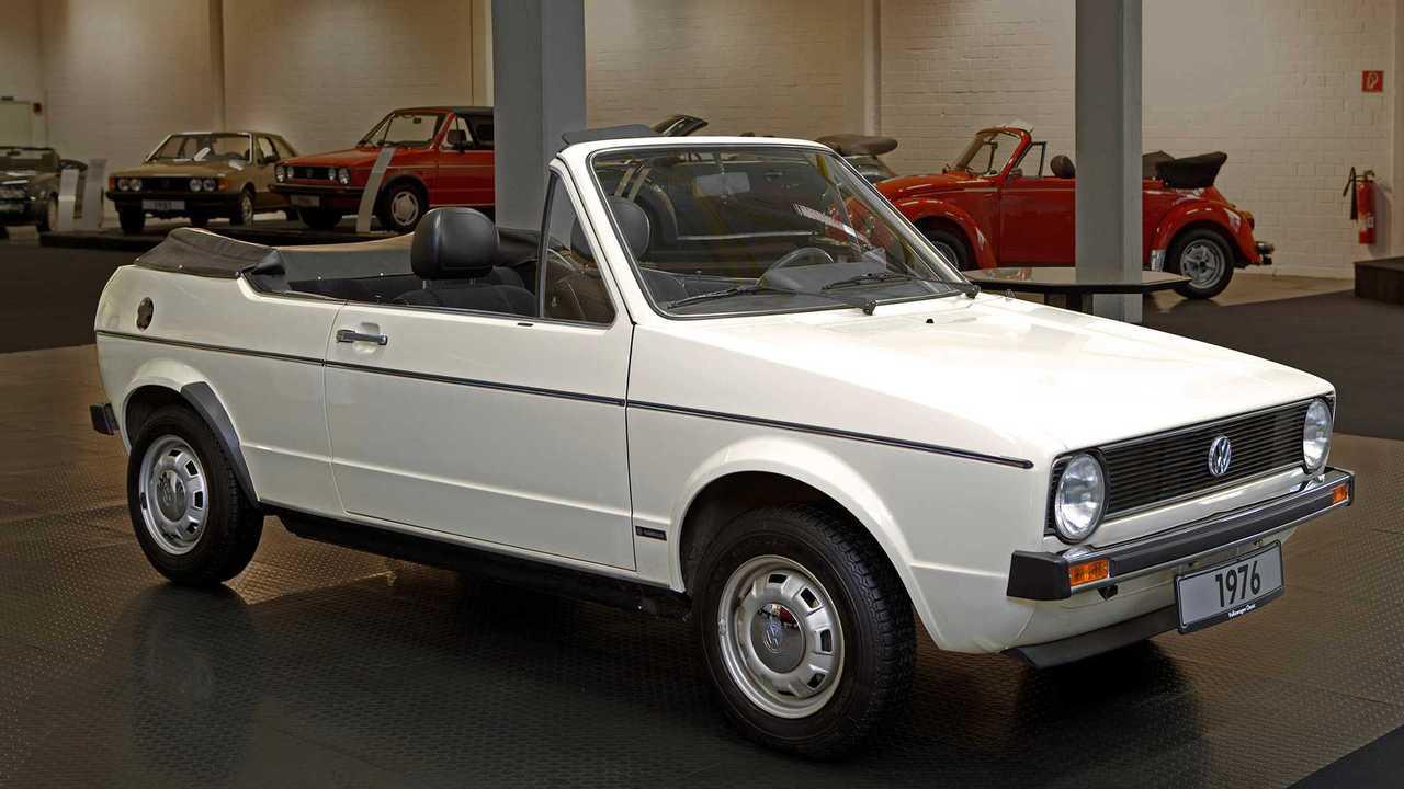 VW Golf Cabriolet Prototyp (1976)
