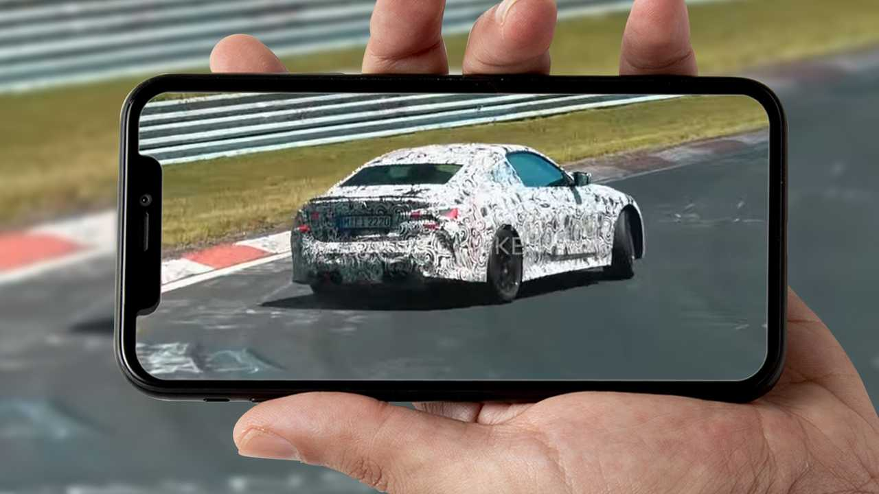 Foto spia BMW Drifting Nurburgring