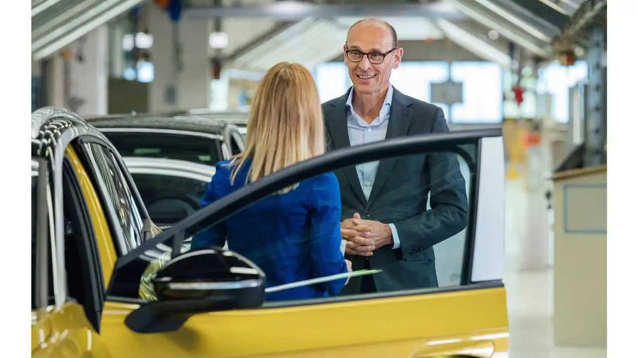 Volkswagen ID.4 series production in Zwickau