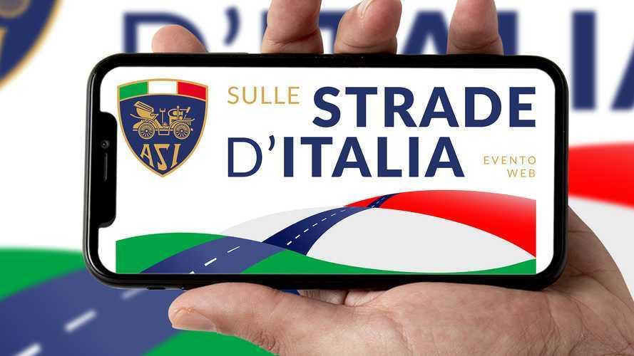 ASI sulle Strade d'Italia, un viaggio streaming in auto d'epoca