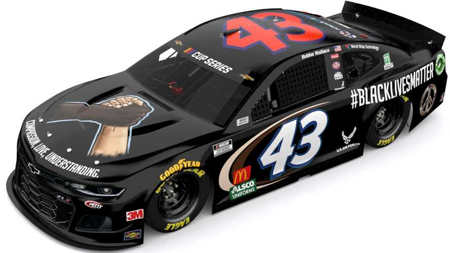 Bubba Wallace And Famed No. 43 To Sport 'Black Lives Matter' Livery