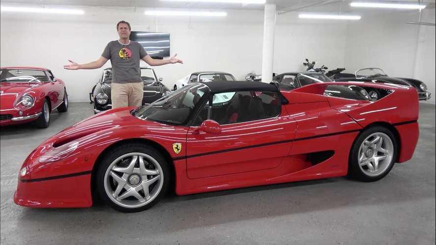 Videó: Ezt kell tudni a Forma-1-ből vett motorral felvértezett Ferrari F50-ről