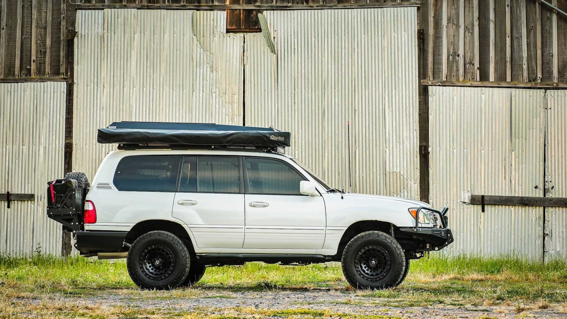 the best of both worlds with this overland ready lexus lx470 overland ready lexus lx470