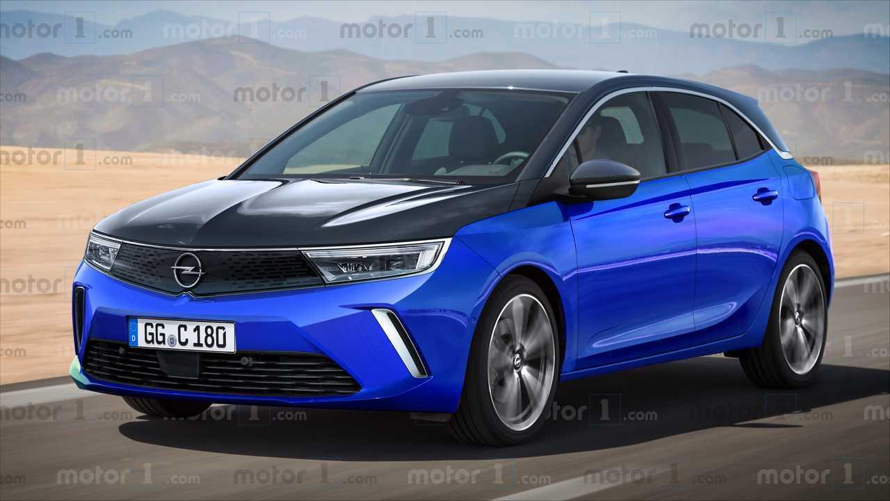 Nuova Opel Astra 2021, il rendering