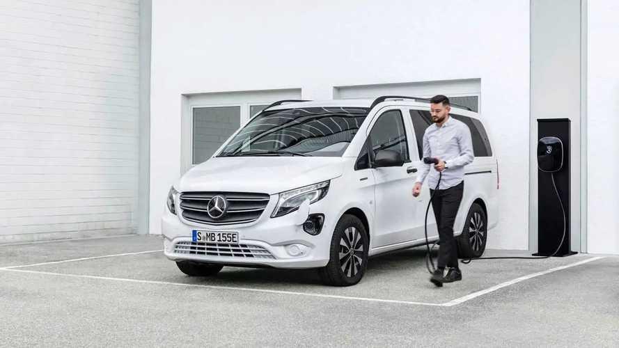 Новый Mercedes-Benz eVito Tourer