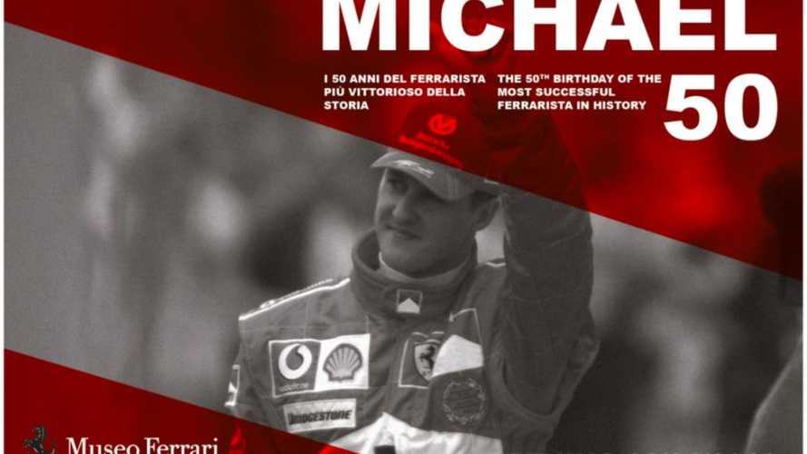 Ferrari museum exhibit planned for Schumacher's 50th birthday