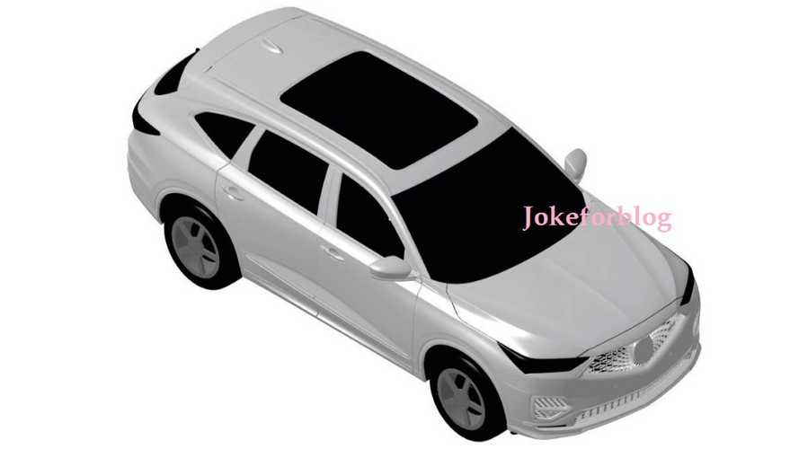 2021 Acura MDX Leaked Again… This Time In Patent Images