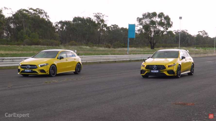 Mercedes-AMG A35 vs A45 S drag race shows massive performance gap