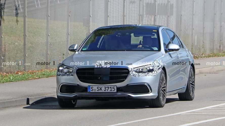 2021 Mercedes S-Class final spy shots