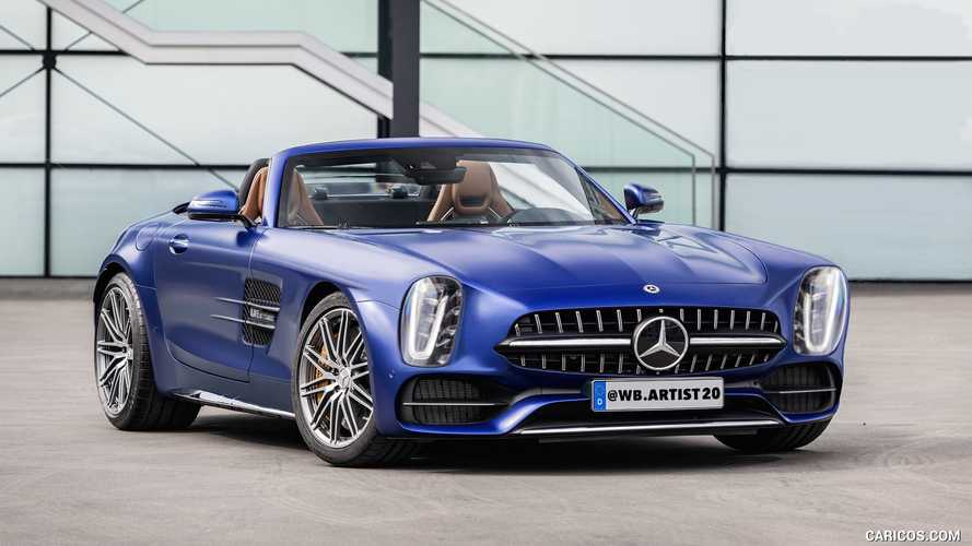 Mercedes 300SL reimagined as retro reboot on AMG GT platform