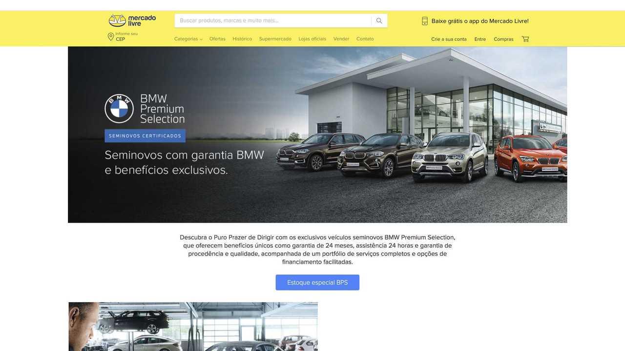 BMW - Loja no Mercado Livre
