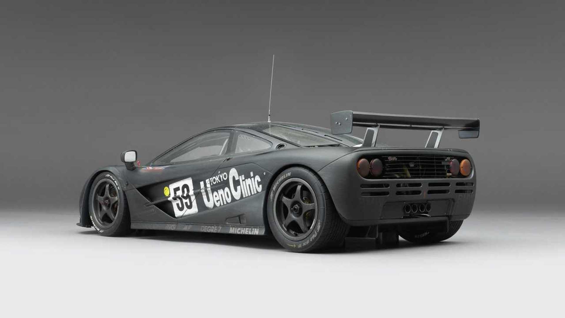 Amalgam Collection: McLaren F1 GTR Ueno Clinic 1995 Le Mans Winner