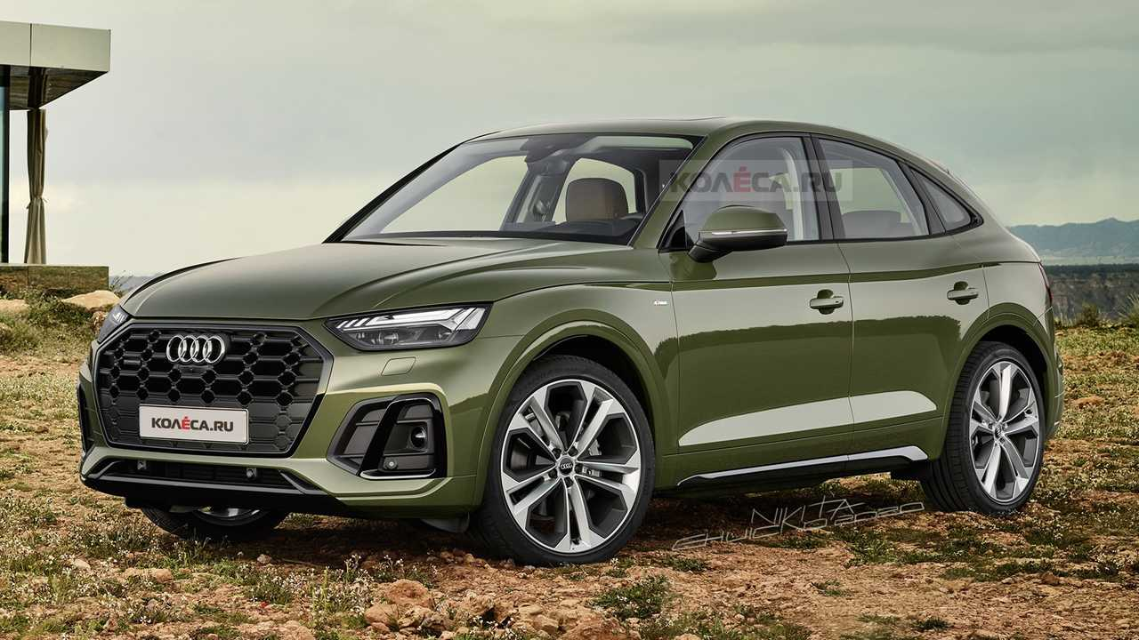 2021 audi q5 sportback adds style loses practicality in