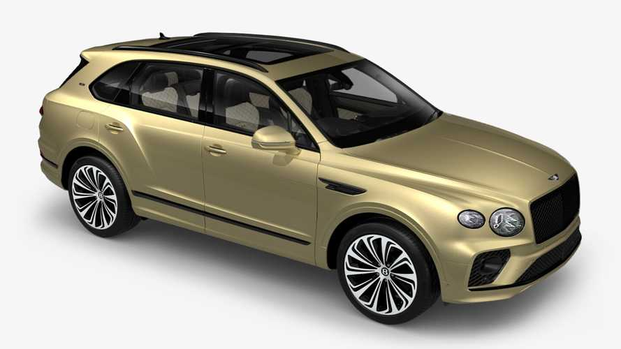 2021 Bentley Bentayga configurator is up, spend your virtual money wisely