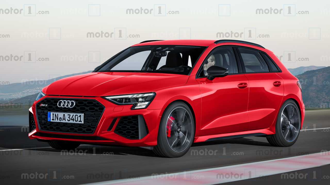 Audi RS 3 Sportback, renders exclusivos de Motor1