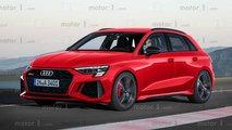 Эксклюзивные изображения нового Audi RS 3 Sportback от Motor1