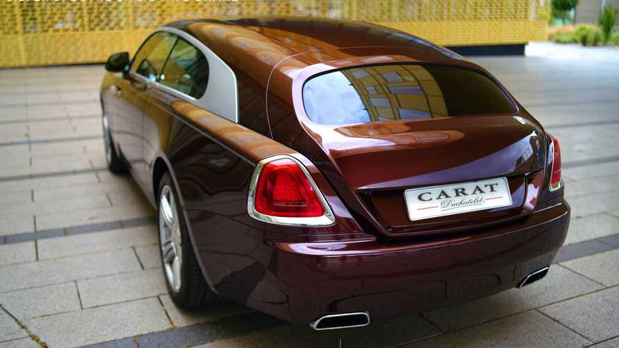 Carat Duchatelet converts Rolls-Royce Wraith into epic shooting brake