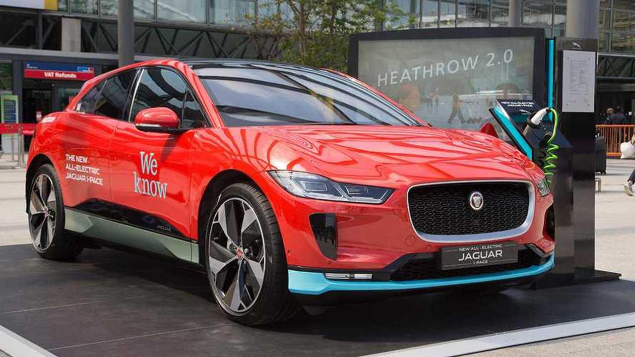 200 электромобилей Jaguar будут возить пассажиров крупнейшего лондонского аэропорта