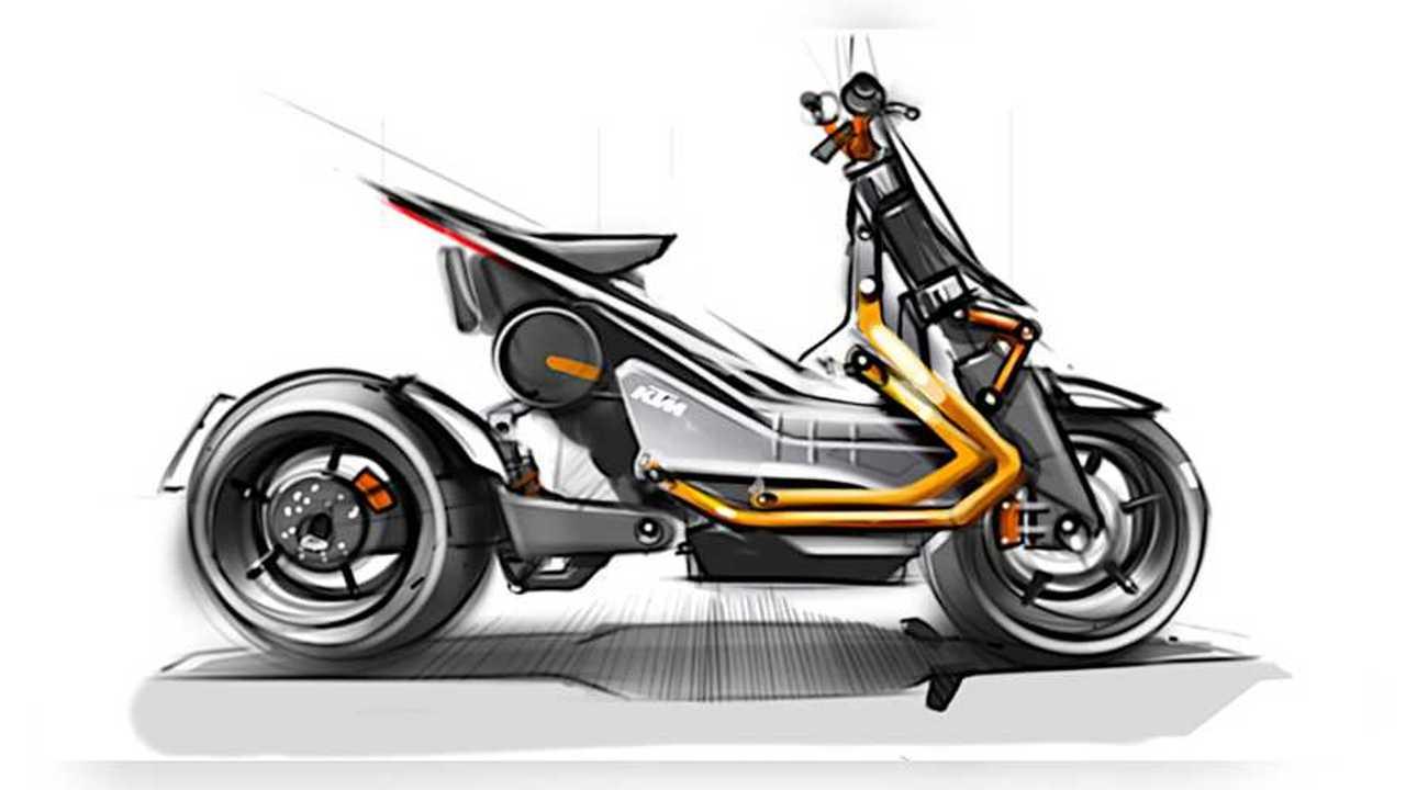 KTM EMotion Concept Drawing