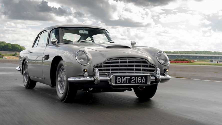 Erstes Aston Martin DB5 Goldfinger Continuation Car