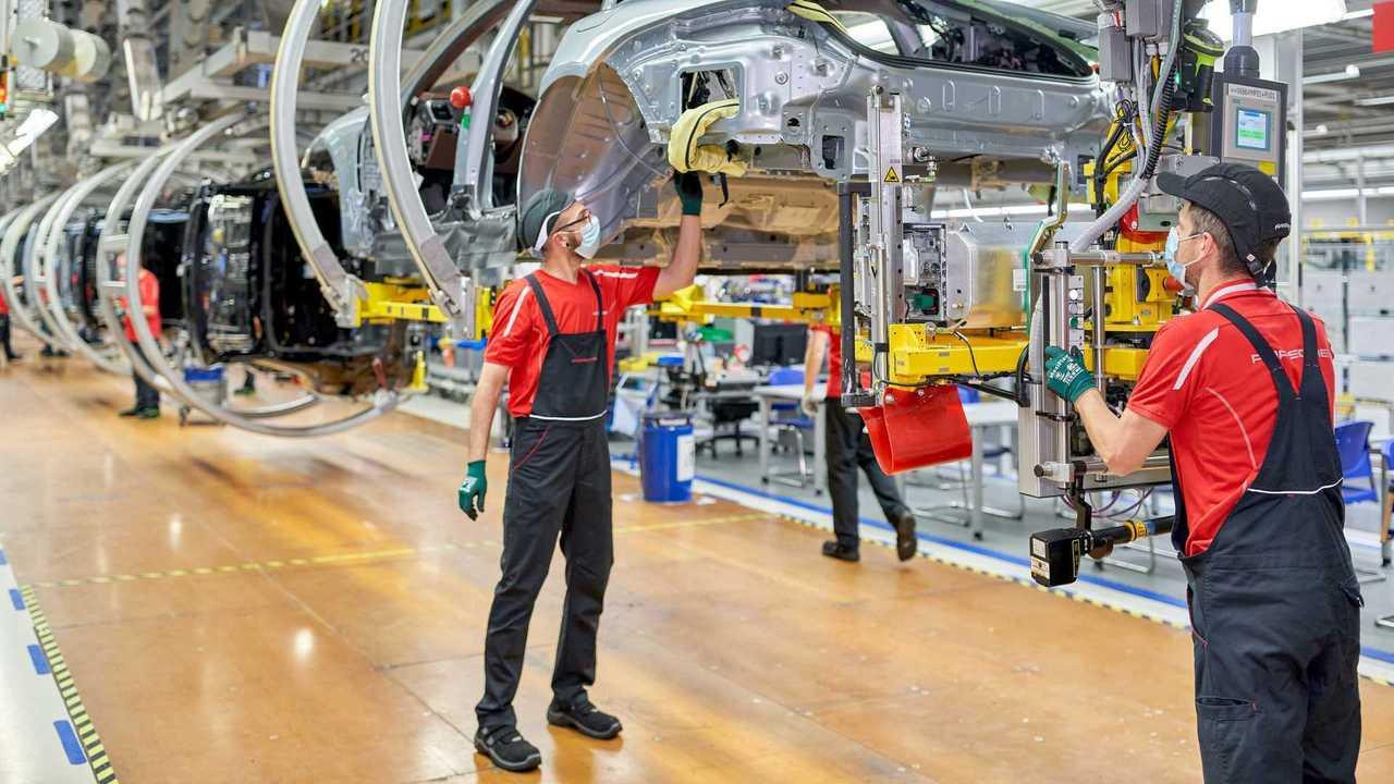 Porsche - expansão da fábrica de Leipzig - 1