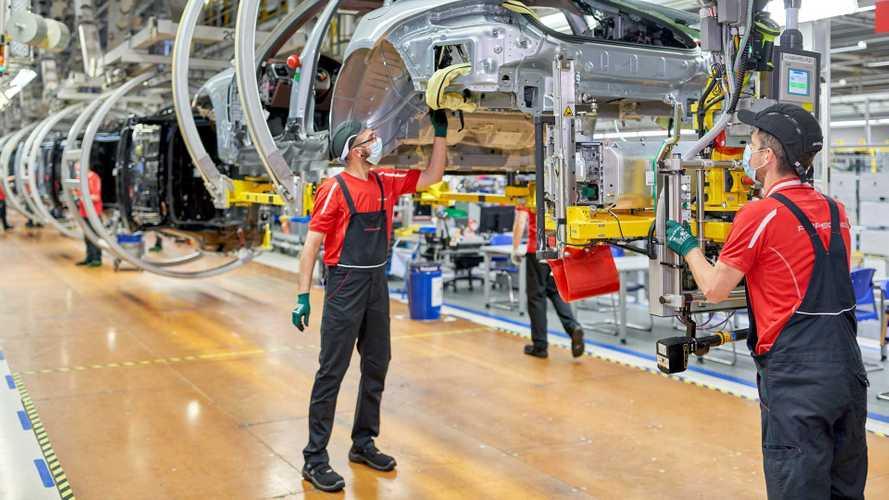 Porsche - expansão da fábrica de Leipzig