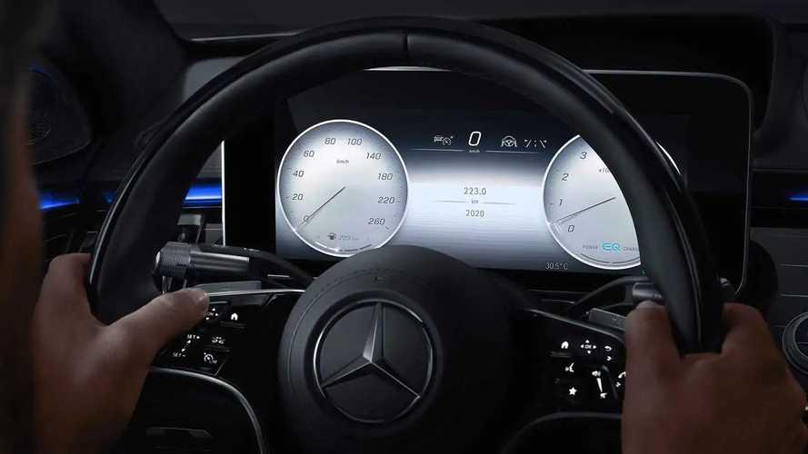 Новый Mercedes-Benz S-класса - мультимедиа