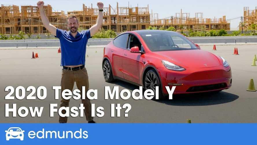 Tesla Model Y Performance: Edmunds Finally Puts It Through The Paces