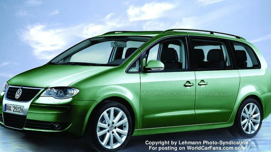 VW Sharan Next Generation Spy