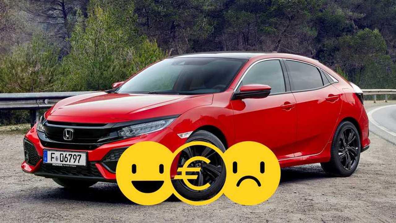 Honda Civic Comfort promo giugno 2020