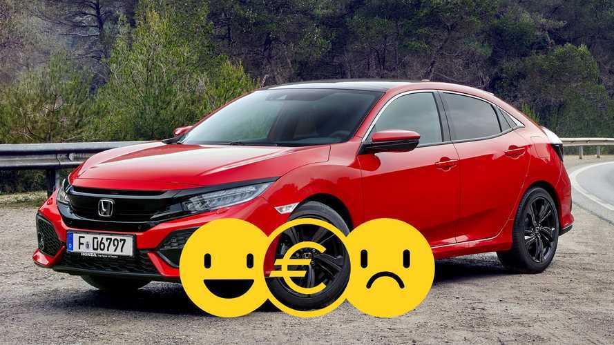 Promozione Honda Civic 1.0 Comfort, perché conviene e perché no