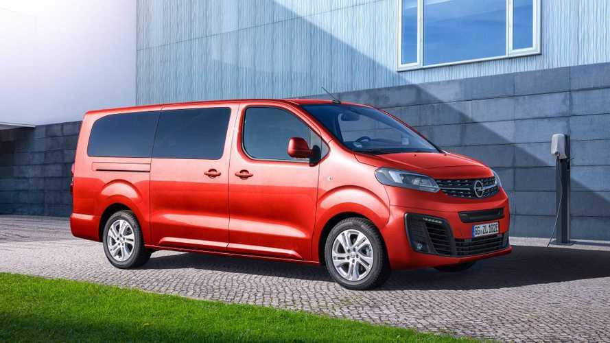 Opel revela a van elétrica Zafira-e Life com autonomia para 330 km