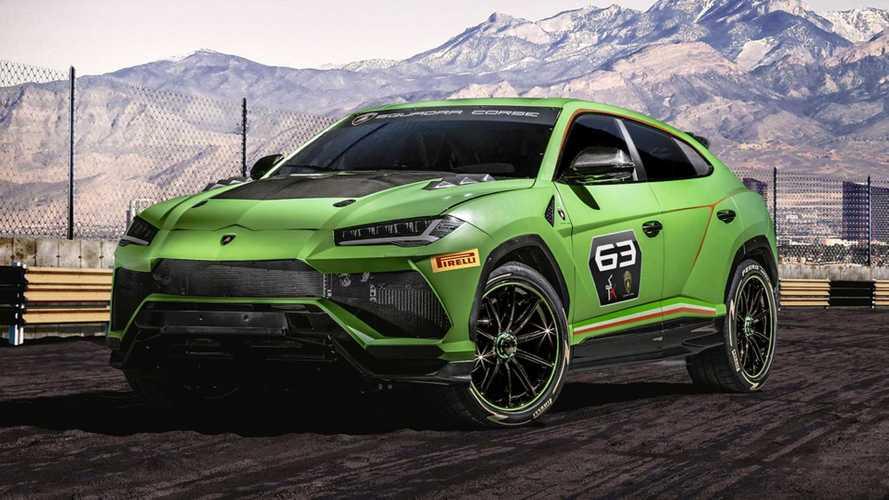 Lamborghini Urus ST-X Concept, inizia l'era dei SUV da corsa