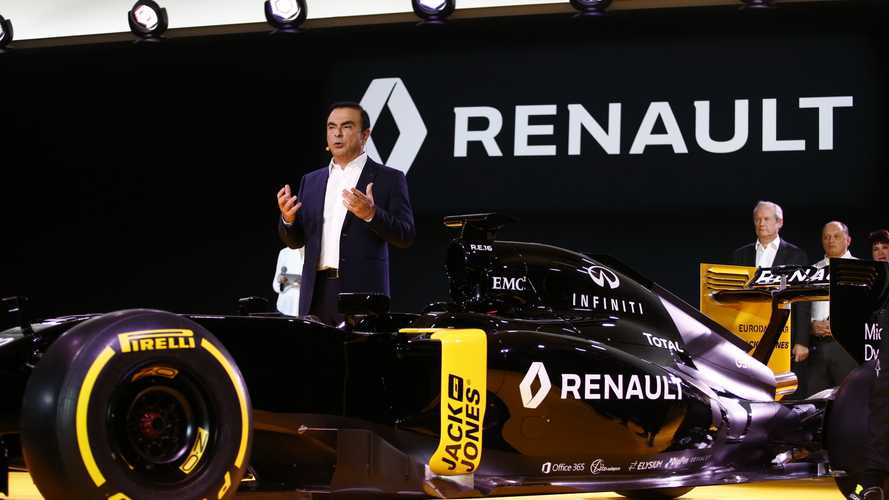 Renault: Ghosn exit no threat to F1 team