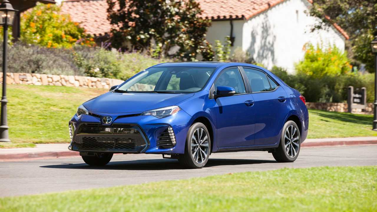 Toyota Corolla front profile 2018