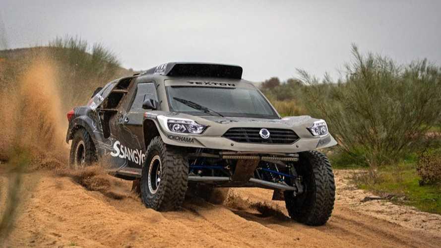 El renovado asalto de SsangYong al Dakar 2019, con el Rexton DKR