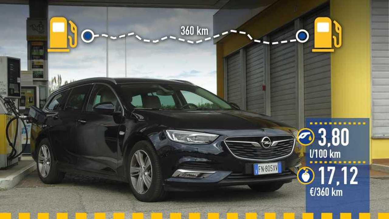 Prueba consumo Opel Insignia Sports Tourer 2019