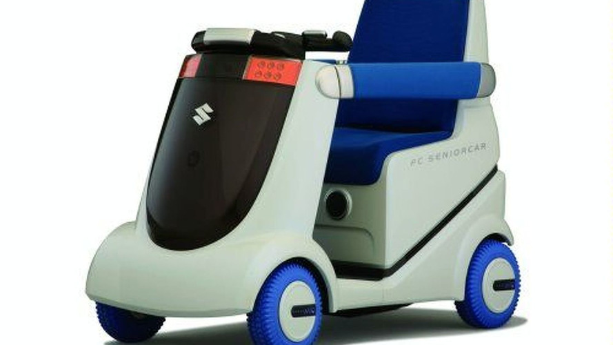 Attention Florida: Suzuki Fuel Cell Wheelchair
