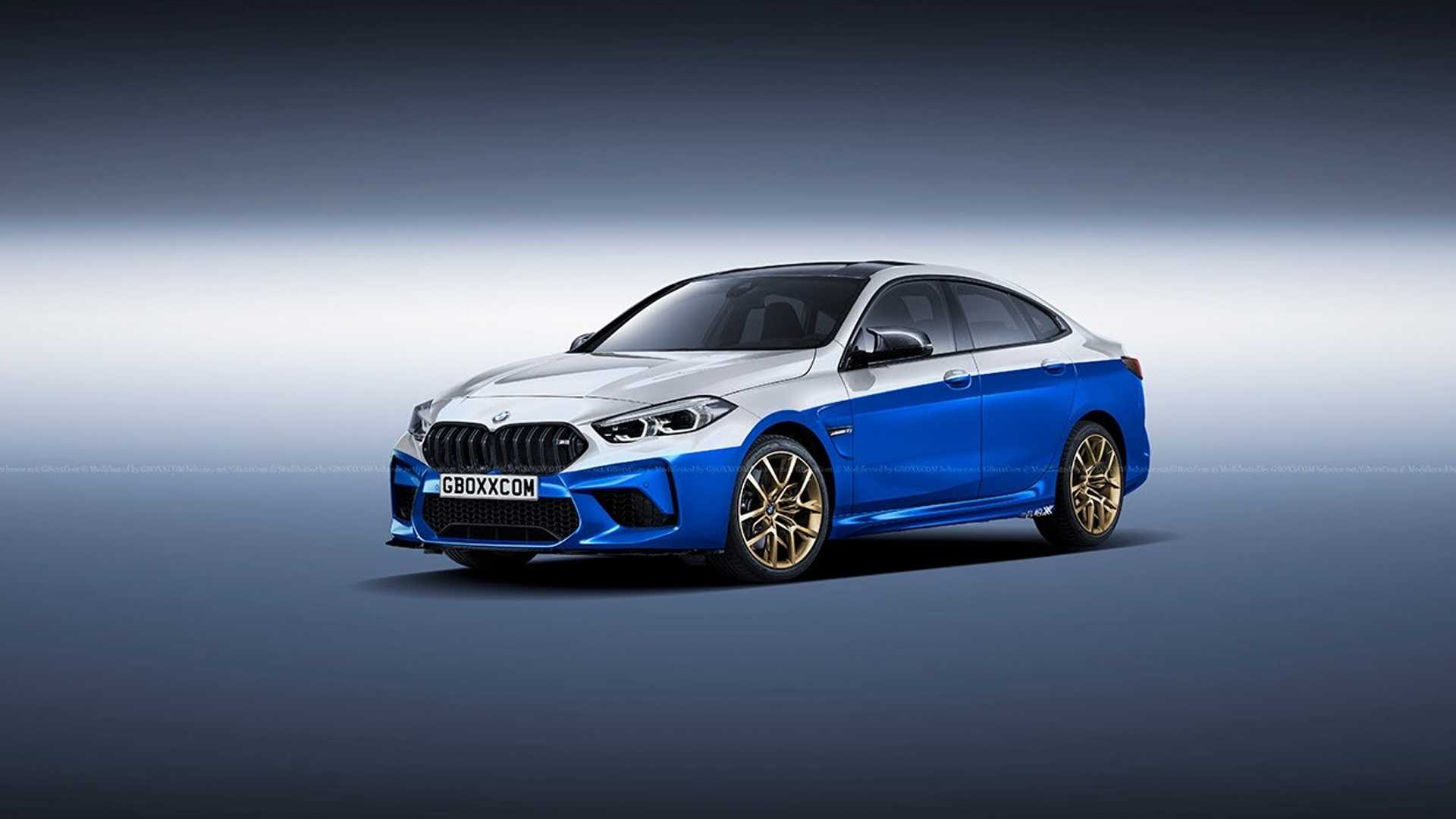 BMW's Future M2 Gran Coupe Rendered