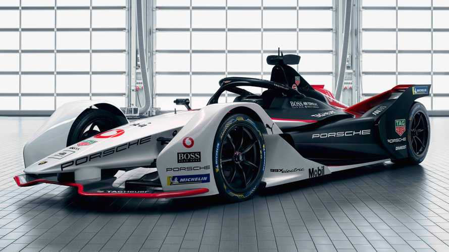 Porsche Formula E Race Car Revealed