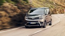 Crosscamp: Hymer-Campingmobil auf Basis des Toyota Proace Verso