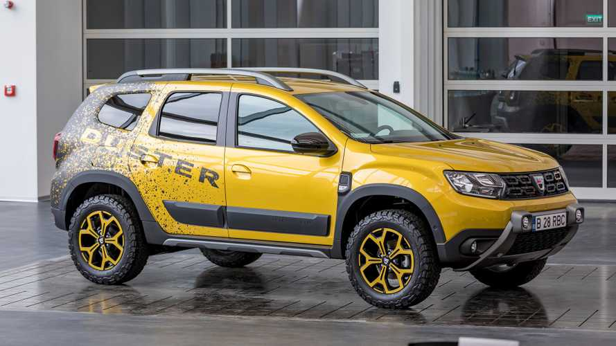 Dacia Duster Extreme Design, un 'showcar' llamativo