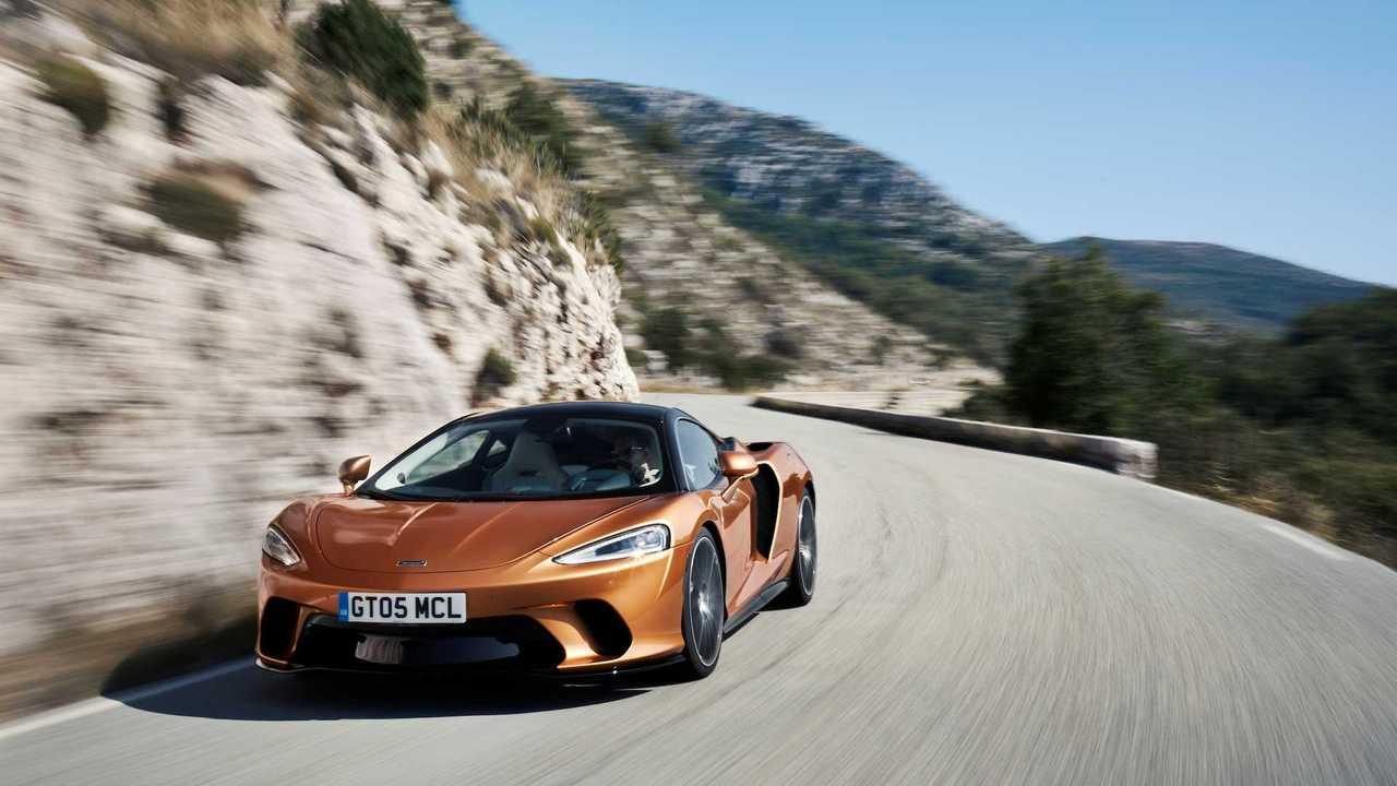 McLaren GT 2020: premier entraînement