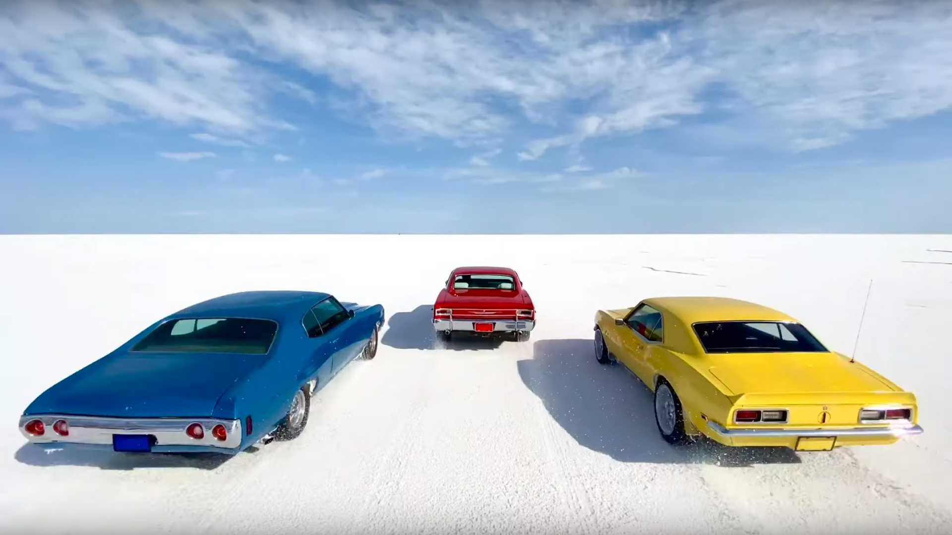 Chevy Muscle Cars >> Watch How Apple Used Chevy Muscle Cars To Show Off Iphone 11