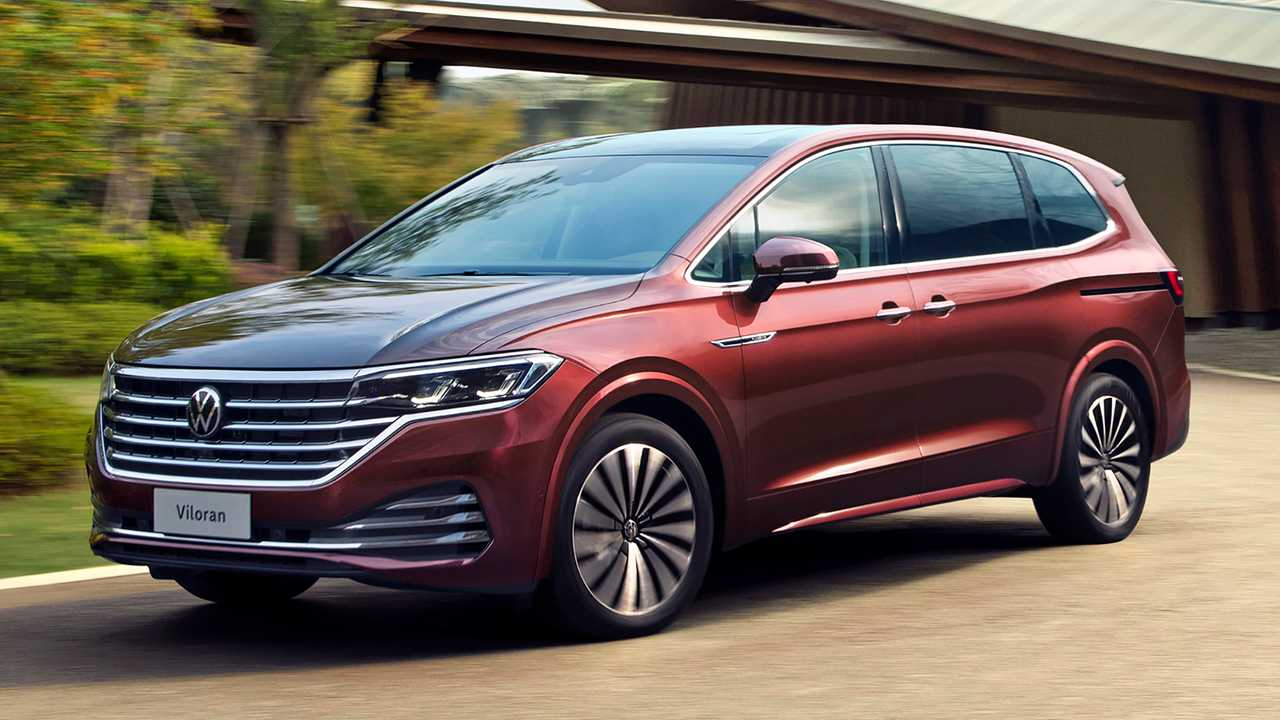 VW Viloran Debuts As Wagon-Like Minivan For China