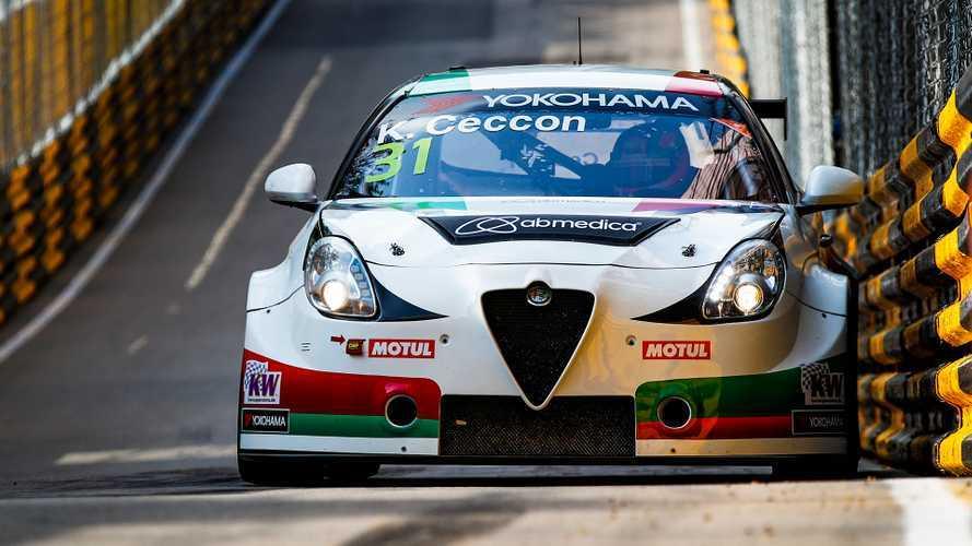 WTCR, due podi Alfa Romeo con Ceccon: