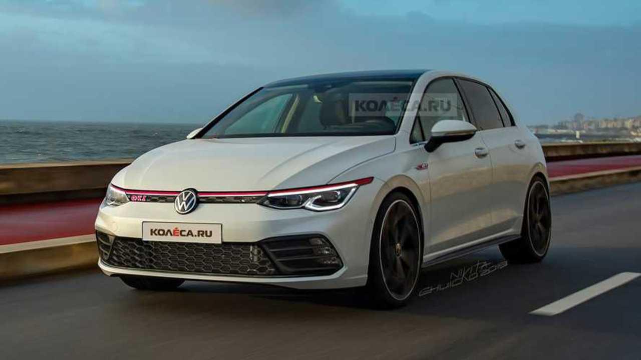 2021 Volkswagen Golf GTI rendering