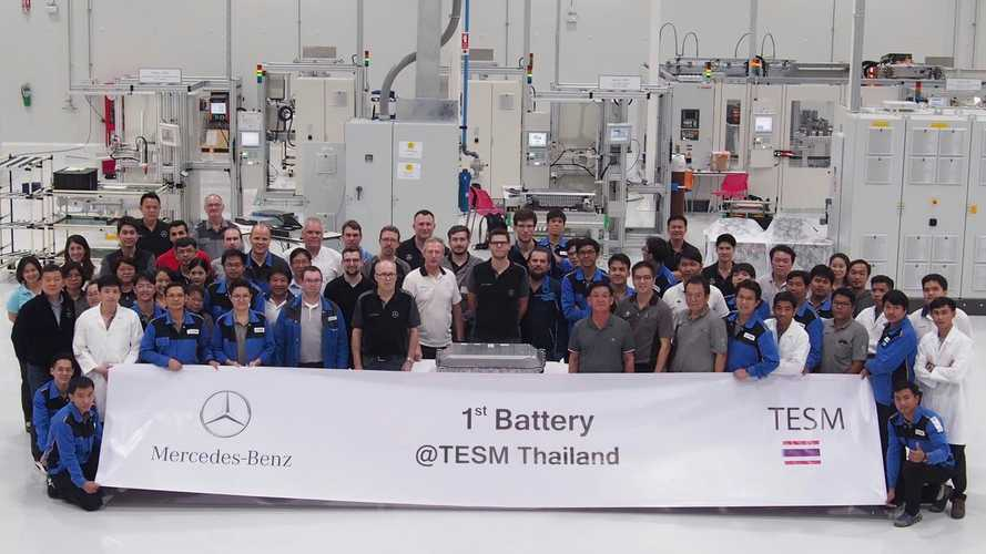Mercedes-Benz Cars starts local battery production in Bangkok